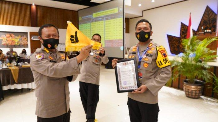 Polres Wonogiri Juara 1 Crime Clearance Tahun 2020