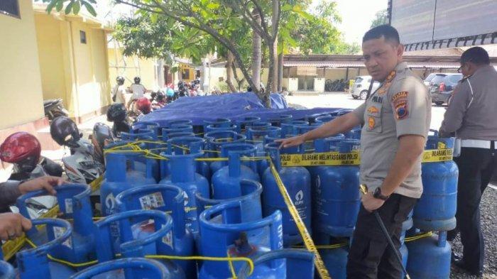 Pengoplos Gas Elpiji Dibekuk Polres Pemalang, Tiap Hari Tersangka Pindahkan 60 Tabung Bersubsidi