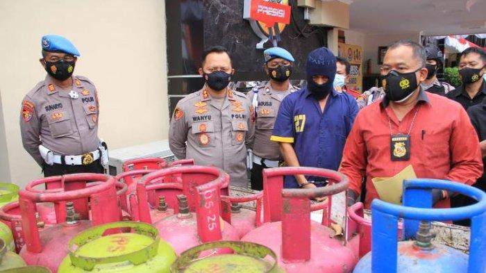 Polres Sukoharjo Ungkap Kasus Pengoplosan Gas Bersubsidi ke NonSubsidi