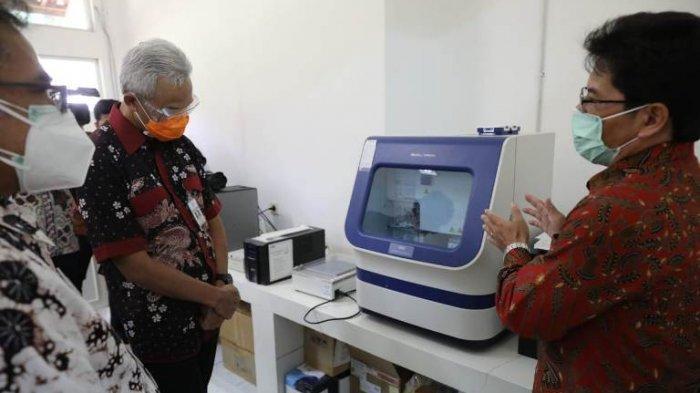 Gubernur Ganjar Dorong Balai Litbang Vektor Salatiga Jadi Pusat Tes Genome Squencing di Jateng
