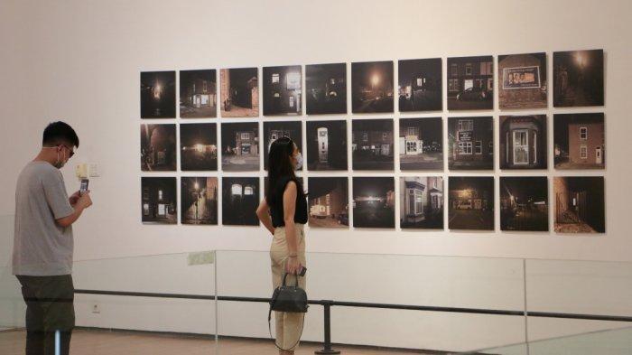 Foto-foto Pembatasan Pengunjung Galeri Semarang Selama Masa Pandemi Covid-19