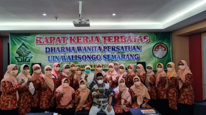 DWP UIN Walisongo Semarang Gelar Rapat Kerja Terbatas, Bahas Program-Program Unggulan Tahun 2021