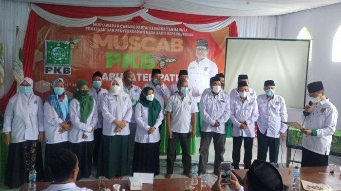 Muscab Serentak, Bambang Susilo Terpilih Jadi Ketua DPC PKB Kabupaten Pati 2021-2026