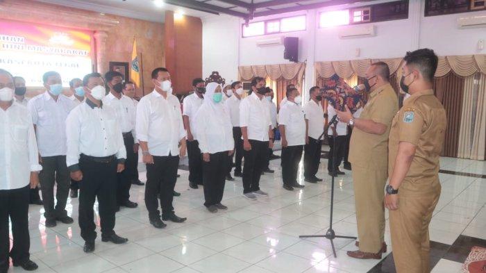 Wali Kota Dedy Yon Kukuhkan Pengurus FKDM Kota Tegal, Ini Pesannya