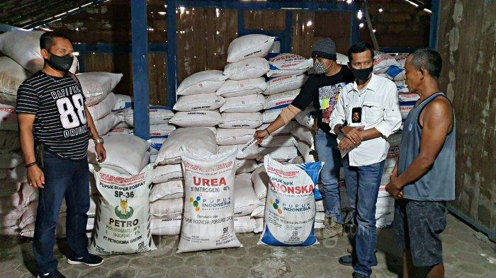 Ngadiman Timbun 14,95 Ton Pupuk Bersubsidi di Gudang Blora, Sengaja Biar Langka, Dijual Harga Mahal