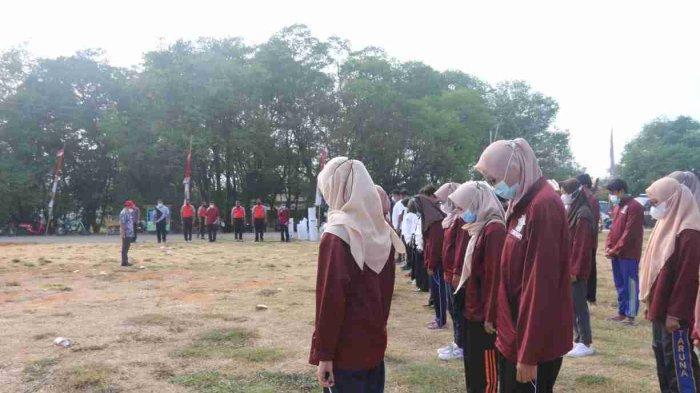 Peninjauan KKN Rektor IAIN Kudus di Pulau Seprapat Juwana Pati pada Jumat ( 24/09/2021).