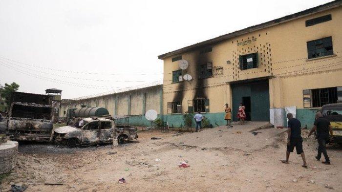 1.800 Napi di Nigeria Kabur Akibat Serangan Kelompok Bersenjata di Penjara