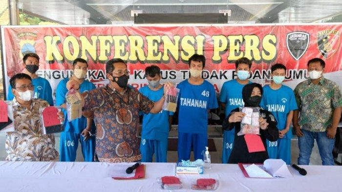 Polda Jateng Tangkap 7 Penjudi Jepara dan Pati, Bandar DPO