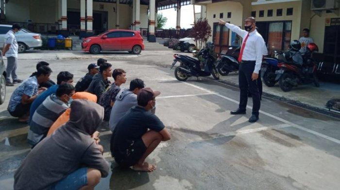 Nonton Balap Liar, 10 Anak di Bawah Umur Diamankan Satreskrim Polres Demak