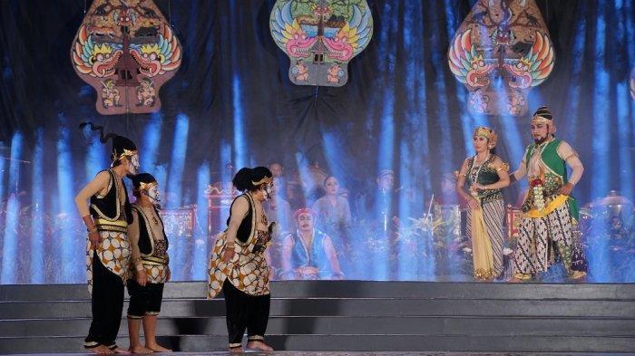 Indra Bekti Jadi Wayang di Taman Indonesia Kaya Semarang, Begini Keseruannya