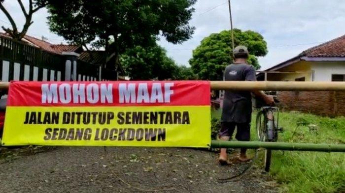 Kasus Covid-19 Meningkat, Akses Jalan ke Desa Manduraga Purbalingga Sempat Dilakukan Penutupan