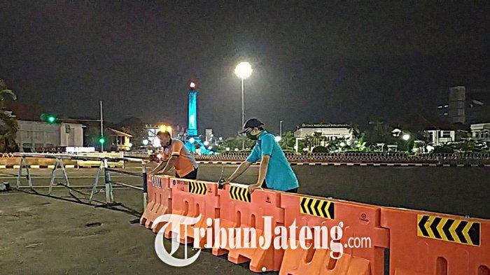 Inilah Daftar Penutupan Tahap II Tiga Ruas Jalan di Kota Semarang, Ditutup Setiap Malam Mulai Besok