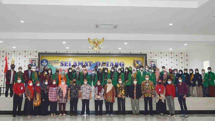 STIE Bank BPD Jateng Sambut Mahasiswa Inbound Program PMM DN Kemendikbudristek 2021