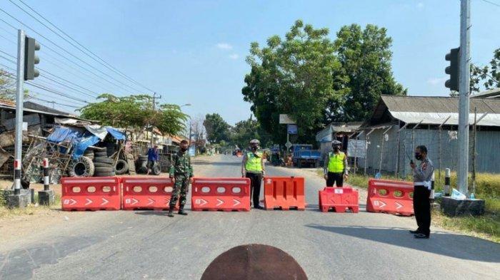Update Penyekatan PPKM Darurat di Kabupaten Tegal, Berikut Daftar Jalan yang Ditutup.