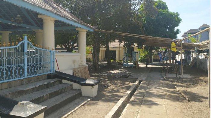 Barikade Akan Dipasang Saat Penyembelihan Hewan Kurban di Masjid Agung Solo