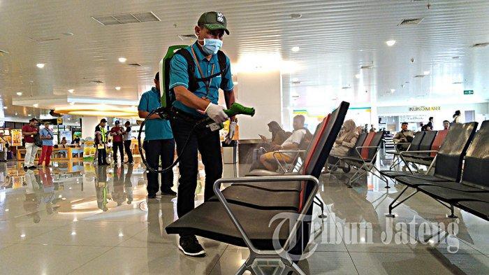 Bandara Jenderal Ahmad Yani Berlakukan Perpanjangan Pengetatan Penumpang Pesawat
