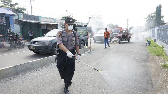 Besok 35 Kabupaten Kota Serentak Penyemprotan Disinfektan Massal, Polda Jateng : Amankan Makanan