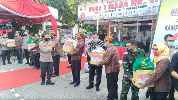 Menilik Kampung Siaga Covid-19 di Kota Semarang, Siap Tanggung Kebutuhan Pangan Warga Kurang Mampu