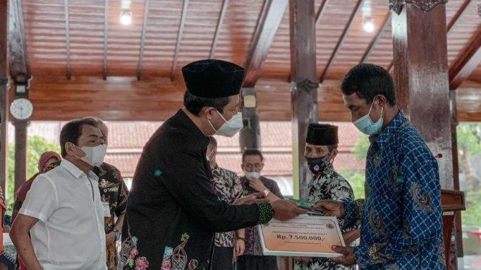 Korban Bencana di Banjarnegara Dapat Bantuan Pembangunan Rumah