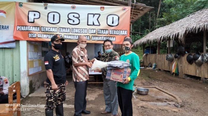 Polisi hingga Ormas Sengkuyung Bantu Korban Longsor Desa Glempang Banjarnegara