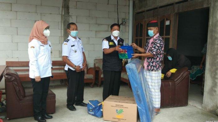 Jadi Korban Gempa Mamuju, 1 Keluarga Asal Sragen Dapat Bantuan Dinsos