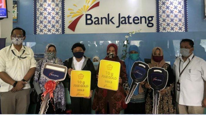 Bank Jateng Serahkan Hadiah Pengundian Tabungan Bima Kepada Para Nasabah