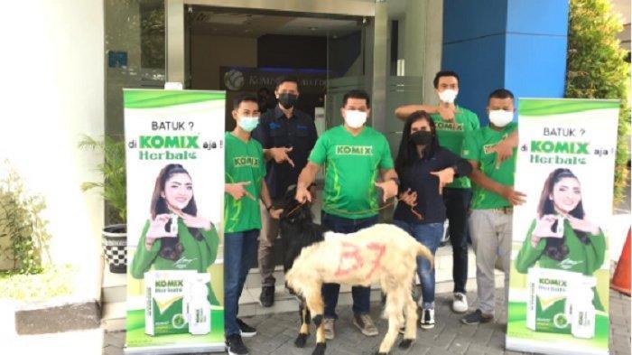 Gandeng Tribun Jateng, Komix Herbal Gelorakan Semangat Berkurban untuk Sesama di Tengah Pandemi