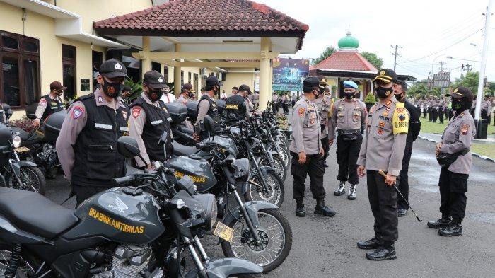 Bhabinkamtibmas Polres Kebumen Dapat 20 Unit Kendaraan Dinas dari Polda Jateng