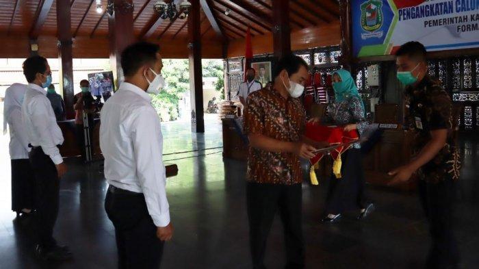 376 CPNS di Banjarnegara Terima SK