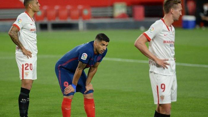 Hasil La Liga Tadi Malam Sevilla Vs Atletico Madrid, Gol Marcos Acuna Tundukkan Luis Suarezdkk