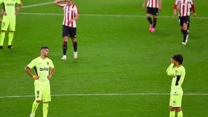 Hasil La Liga Tadi Malam Athletic Bilbao Vs Atletico Madrid, Los Rojiblancos Tumbang