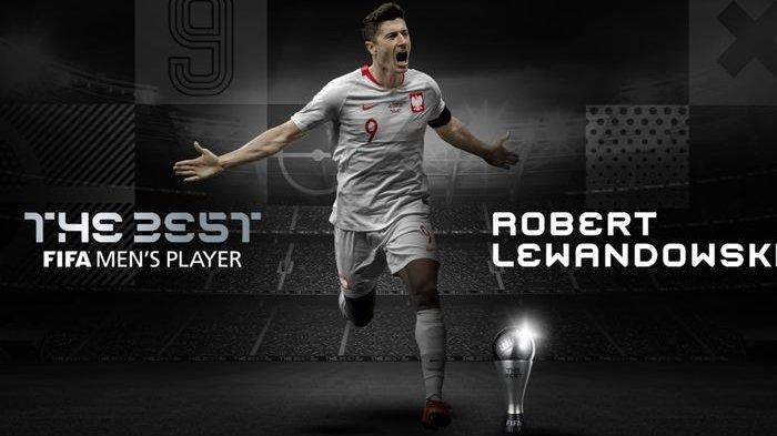 Robert Lewandowski Pemain Terbaik Dunia 2020, Singkirkan Lionel Messi dan Cristiano Ronaldo