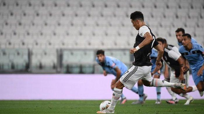 Nonton TV Online Ini Link Live Streaming Juventus Vs AS Roma Liga Italia Peluang Sepatu Emas Ronaldo