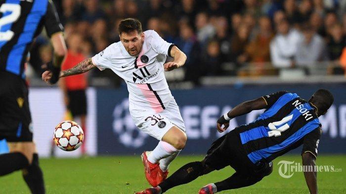 Video Messi Seperti Kebingungan saat Lawan Club Brugge, Rekan di PSG Hanya Menonton