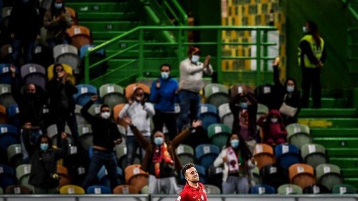 Hasil UEFA Nations League Tadi Malam Portugal Vs Swedia, Selecao Menang Telak meski Tanpa Ronaldo
