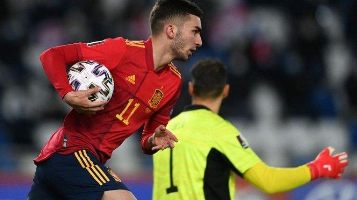 Hasil Kualifikasi Piala Dunia 2022 Georgia Vs Spanyol, La Roja Lepas dari Mimpi Buruk