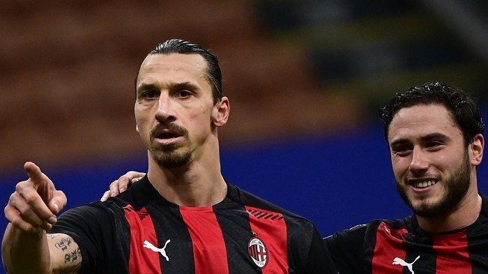 Julukan Baru Zlatan Ibrahimovic AC Milan dari Sang Legenda: Si Kuda Gila