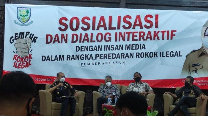 Sosialisasi Gempur Rokok Ilegal, DBHCHT Tingkatkan Kesejahteraan, Penegakan Hukum dan Kesehatan
