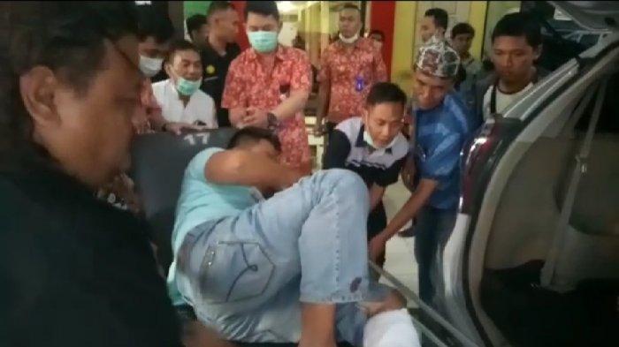Polisi Tembak Kaki Pelaku, Kawanan Perampok Nasabah Ditangkap, Sesaat Sebelum Beraksi di Pekalongan