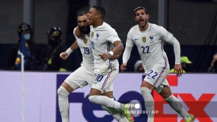 Perancis Juara UEFA Nations League, Pemain AC Milan Beri Asis Gol Kontroversial Kylian Mbappe