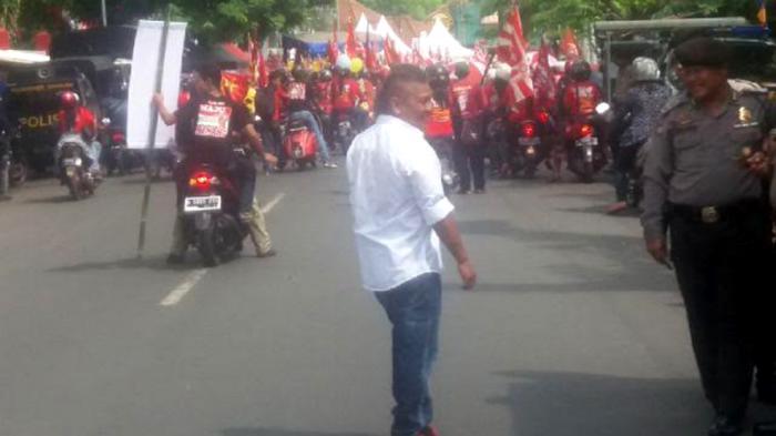 May Day, Buruh Kota Semarang Dirikan Panggung Perjuangan