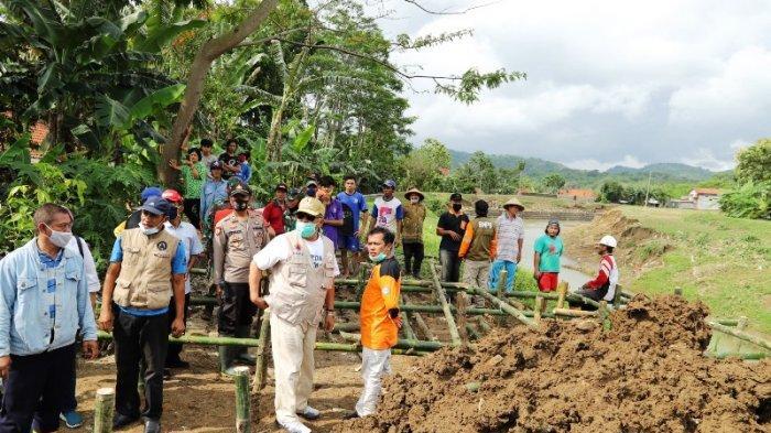 Pemkab Kebumen Kebut Perbaikan Beberapa Tanggul Jebol Pemicu Banjir