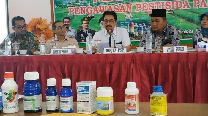 Lahan Pertanian Semakin Rusak di Brebes, Sarwo Edhi Sebut Dikarenakan Penggunaan Pestisida Palsu