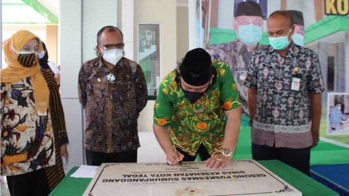 Wali Kota Dedy Yon Resmikan Gedung Baru Puskesmas Sumurpanggang Tegal