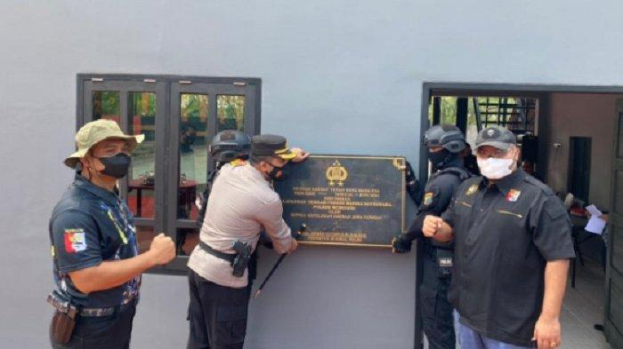 Doa Bersama Peresmian dan Selamatan Lapangan Tembak Presisi Sanika Satyawada Polres Wonogiri
