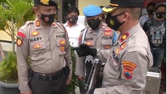 Kompol Arsadi Cek Senpi Anggota Polsek Tembalang: Cegah Penyalahgunaan Senjata