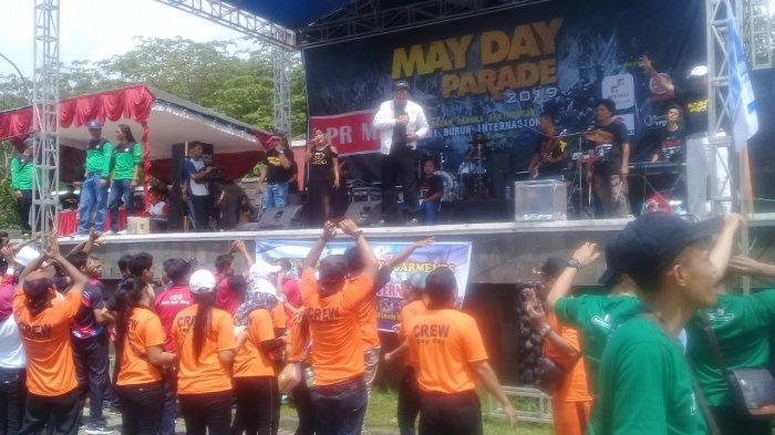 Peringatan Hari Buruh di Kabupaten Semarang Digelar Kondusif