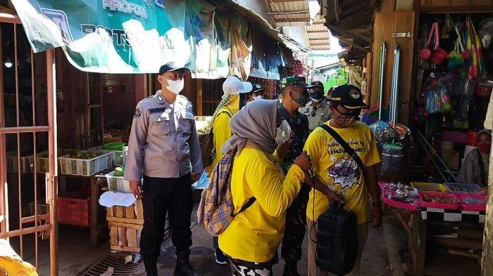 Kompak, PPRT Bersama TNI/Polri Bagikan Seribu Masker Gratis
