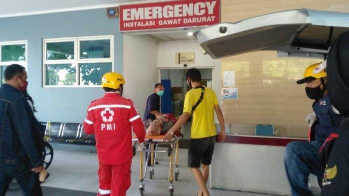 Kakek Anas Terserempet Kereta di Semarang hingga Terlempar,Beruntung Masih Selamat