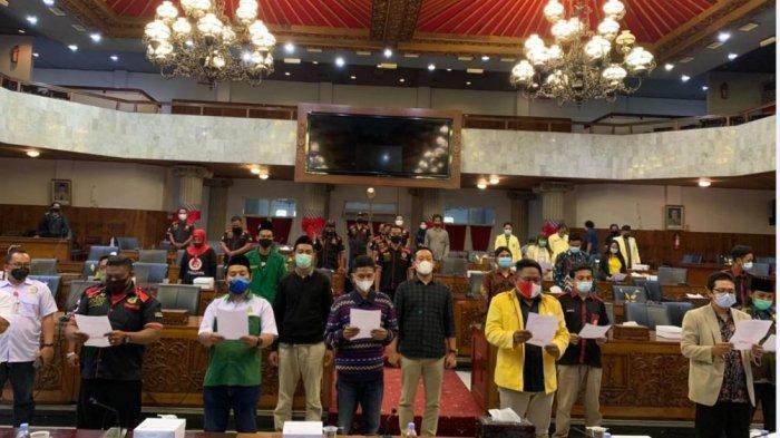 Para Organisasi Kepemudaan di Semarang Beri Pernyataan Sikap Menolak Terorisme
